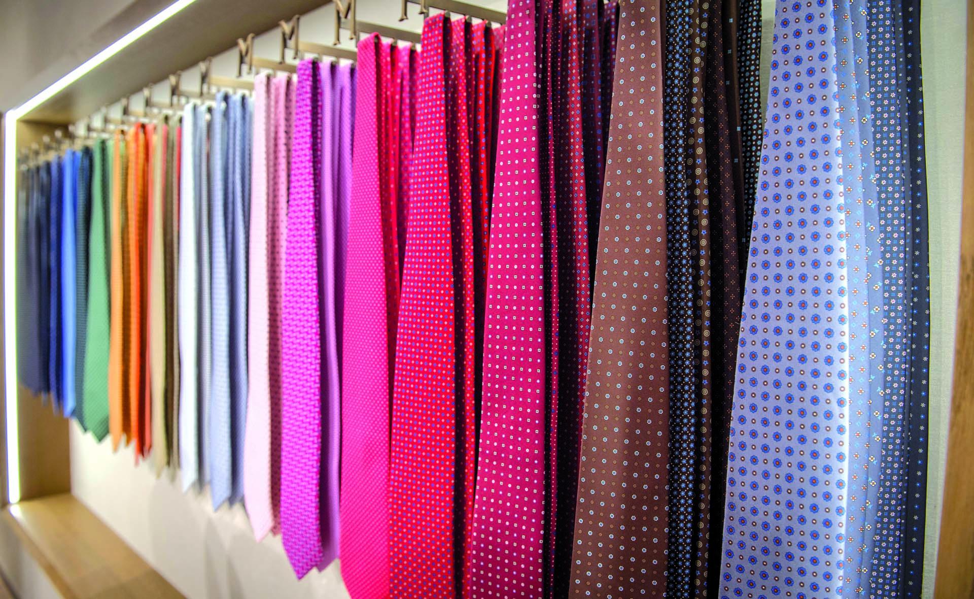 acquisto autentico bene fuori x la più grande selezione di E. Marinella: sua maestà la cravatta - LuxuryRome - shopping ...